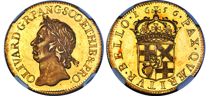 350 year old 1656 cromwell pattern broad